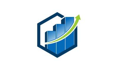 Chart Graph Finance Logo 2