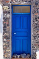 The doors of Santorini V