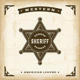 Vintage Western Sheriff Badge