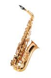 Saxophone isolated