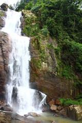 Водопад Рамбода, крупный план, Шри-Ланка