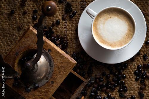 Filiżanka kawy - 77948462