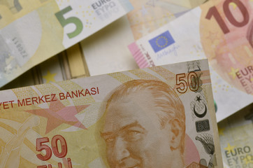 Türk lirası Turkish lira Lira turca Türkische ليرة تركية