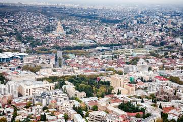 Cityscape of Tbilisi