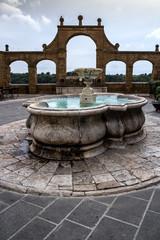 Pitigliano (Grosseto) La Fontana delle 7 cannelle