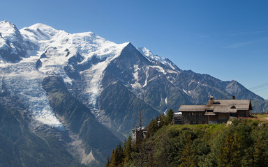 Mont blanc from Brevent