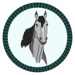 icon horse