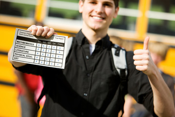 School Bus: Focus on Report Card