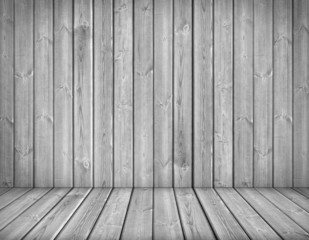 Background interior. Wood wall and floor