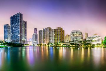 Miami Florida Cityscape