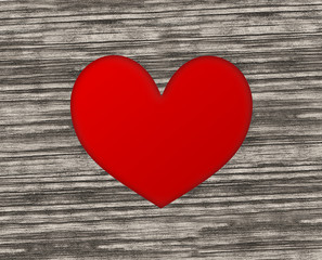 Red Heart Wood Design