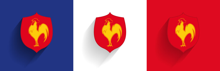 Blason Équipe de France de Rugby