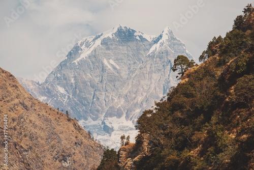 Poster Nepal instagram filter Himalaya mountains