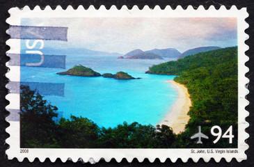 Postage stamp USA 2008 St. John, US Virgin Islands