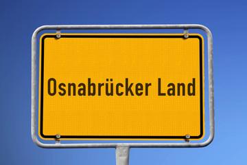Schild Osnabrücker Land