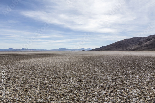 Zzyzx Dry Lake in the Mojave Desert - 77955254
