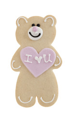Shortbread teddy Bear