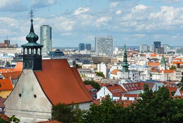 Bratislava City spring view (Slovakia)