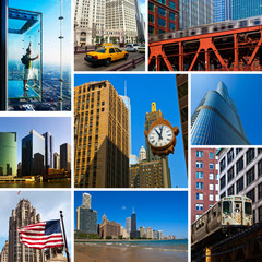 Chicago Views Collage