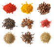 Spices set top view - 77957696