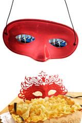 mascherine di carnevale dolcetti a Venezia