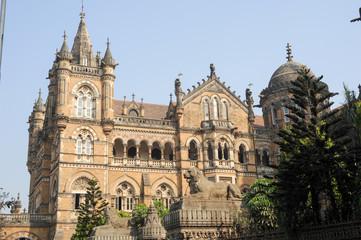 Chhatrapati Shivaji Terminus formerly Victoria station at Mumbai