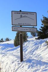 Panneau altitude