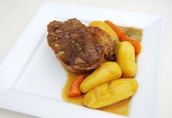 boeuf carottes en sauce