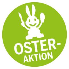 Button Osteraktion mit Osterhase
