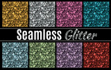 Fototapety Collection of vector glitter seamless patterns