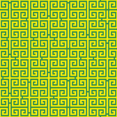 Abstract seamless background with labyrinth, Vector illustration