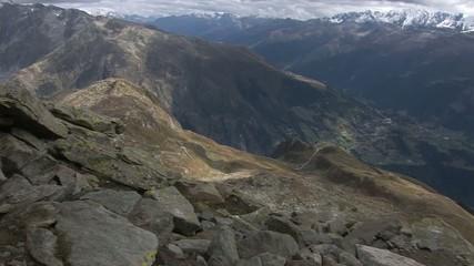 Alpenblick ins Wallis