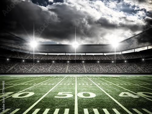 Fotobehang Stadion American soccer stadium