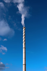 High industrial chimney