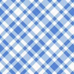 blau-weiß Karo Tischdecke Muster kariert