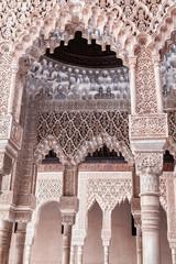 Stucco arch