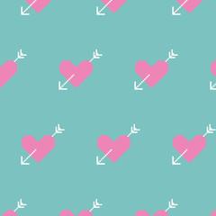 Sweet Valentine pixel-art pattern