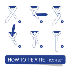 vector instructions - how to tie a tie
