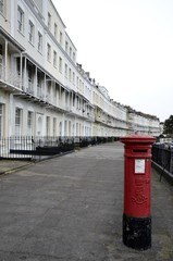 Houses from Clifton and mail box