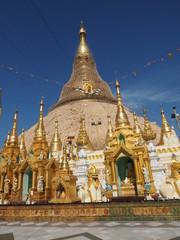 Shwedagon, simbolo de Yangón