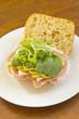 Ciabatta Roll Sandwich - 77969029