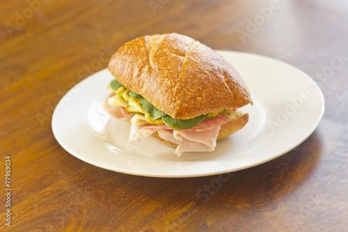 Aluminium Picknick Ciabatta Roll Sandwich