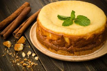 Cheese cake (New York cheesecake)