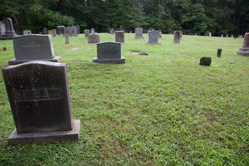 Graveyard of Cades Cove Baptist Church