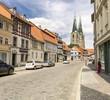 Alte deutsche Häuser in Quedlinburg 06639
