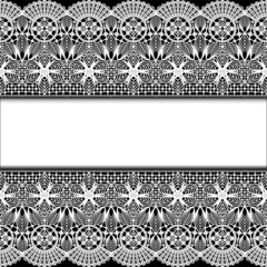 background with stripes white lace and place for text