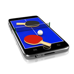 Ping-Pong Table Tennis on Smartphone, Sports App