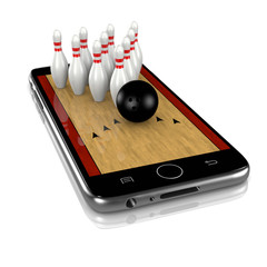 Bowling on Smartphone, Sports App