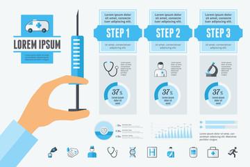 Dental Infographic Elements.