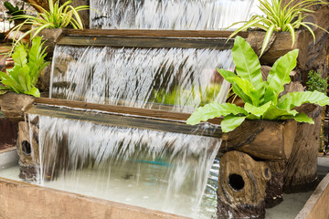 waterfall for decoration